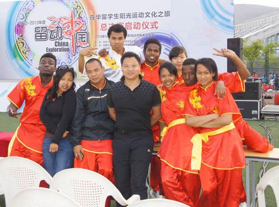 曾志强带留学生参加留动中国总决赛